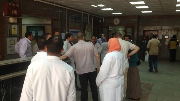 : عرض ممرضة و3 آخرين على الطب الشرعي في مشاجرة بمستشفى دار السلام