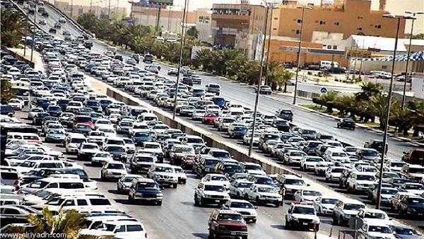 : كثافات مرورية على الطرق والمحاور الرئيسية بالقاهرة