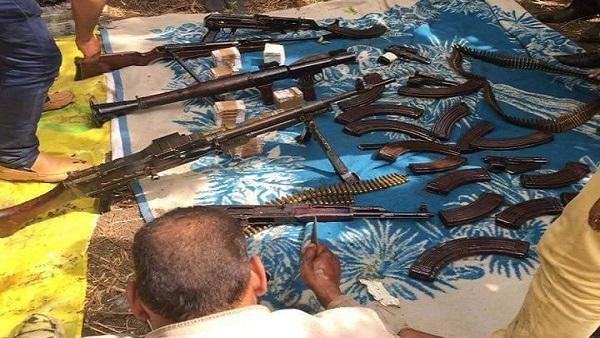 : ضبط 20 عاطلاً بحوزتهم أسلحة نارية ومخدرات في القليوبية