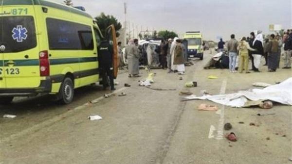 البوابة نيوز: مصرع وإصابة شخصين في حادث سيارة بأسوان