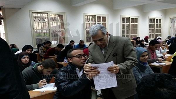 البوابة نيوز: رئيس جامعة القاهرة يتابع سير امتحانات  الحقوق