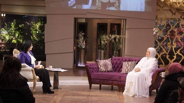 : بالصور.. كواليس حلقة ياسمين الخيام مع منى الشاذلي في  معكم