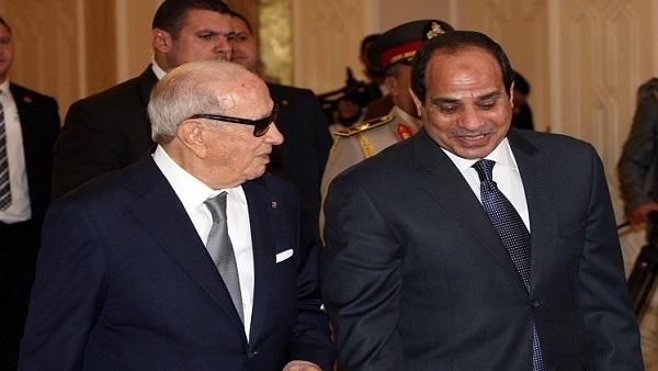 : السيسي يزور الجزائر 15 فبراير لبحث الأزمة الليبية