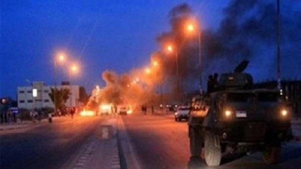 : تفجير عبوة ناسفة بعد محاولة الشرطة تفكيكها بالعريش