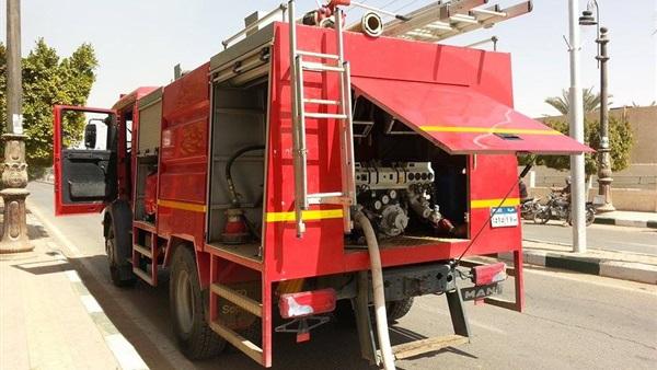 : السيطرة على حريق داخل مغسلة فندق بالغردقة