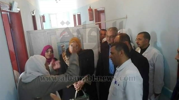 البوابة نيوز: بالصور.. وكيل وزارة الصحة بالمنوفية تتفقد مستشفى الناعورة