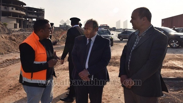 البوابة نيوز: محافظ الإسكندرية يتفقد مشروع تطوير الطريق الدائري