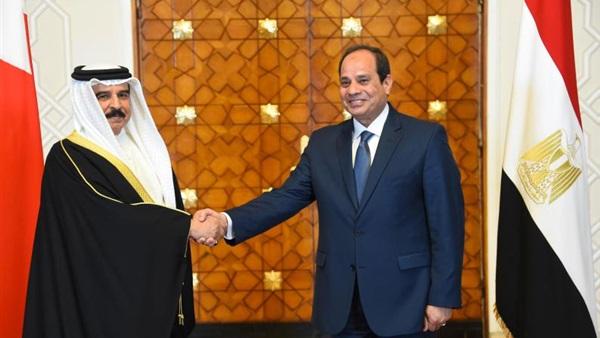 : 3 ملفات شائكة يبحثها ملك البحرين مع السيسي غدًا بالقاهرة