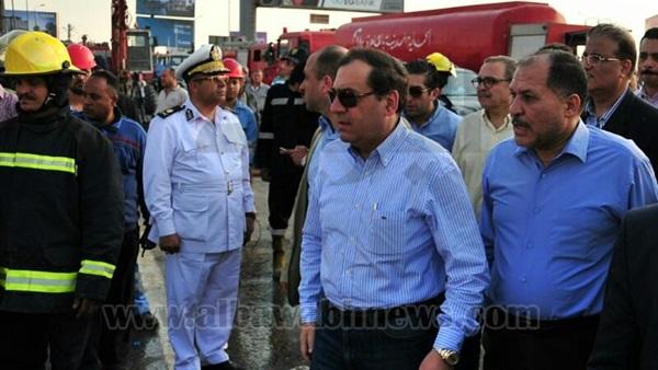 : وزير البترول يعلن الانتهاء من إصلاح خط أنابيب بوتاجاز القطامية