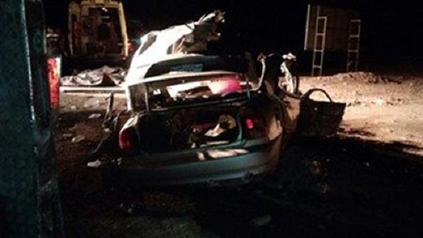 : إصابة 3 أشخاص في تصادم أعلى الطريق الدائري بالسلام