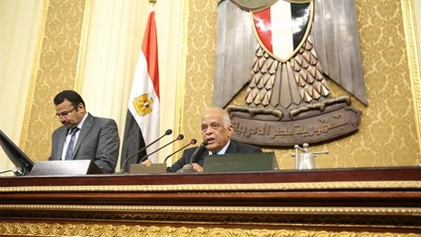 عبدالعال يفتتح الجلسة العامة للبرلمان