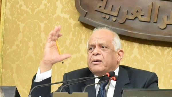 عبد العال يقترح عقد جلسات البرلمان في التاسعة صباحًا