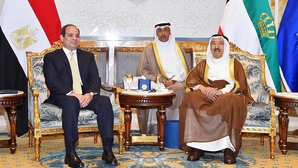 مصر والكويت.. نموذج رائد لعلاقات عربية قوية