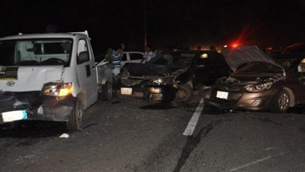 إصابة 4 أشخاص في حادث تصادم بـ