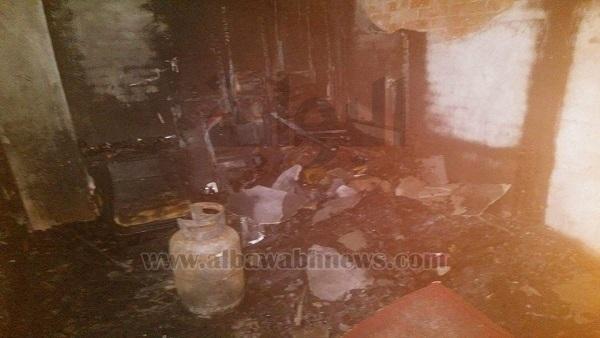 ننشر صورًا من داخل منزل المرج المحترق.. العشيق كلمة السر