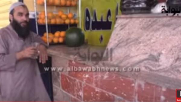 بالفيديو.. محال العصير تستعد لرمضان