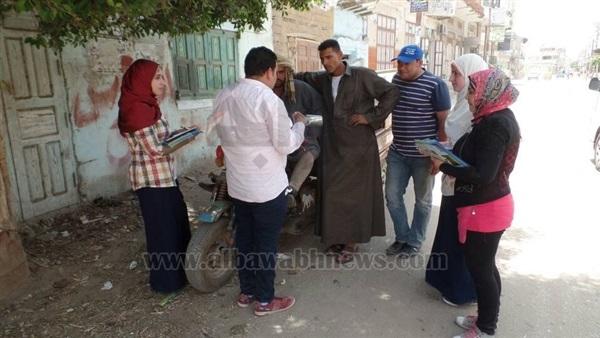 بالصور.. حملات للتوعية بالحفاظ على المياه في 12 قرية بالشرقية
