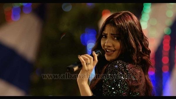 : بالصور.. شيرين يحيى تغني لـ الفتوة  ساموزين