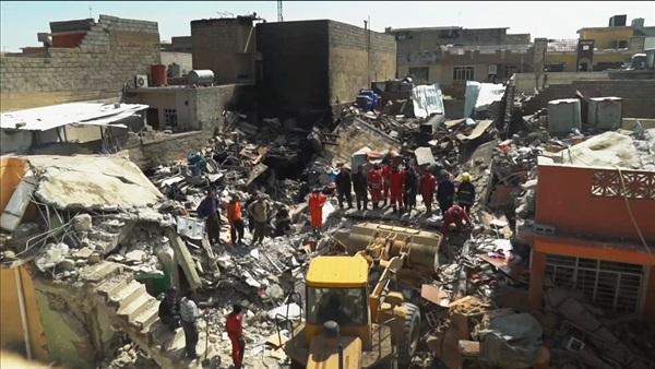 : مدينة الرماح التي دمرها الإرهاب..  داعش  مر من هنا