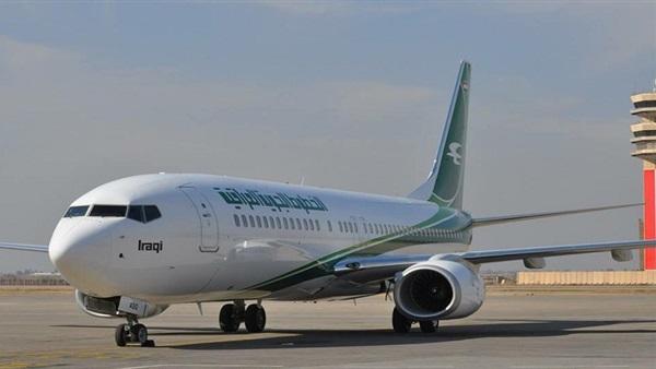 : طائرة الخطوط العراقية تقلع من مطار القاهرة بعد تأخر 6 ساعات
