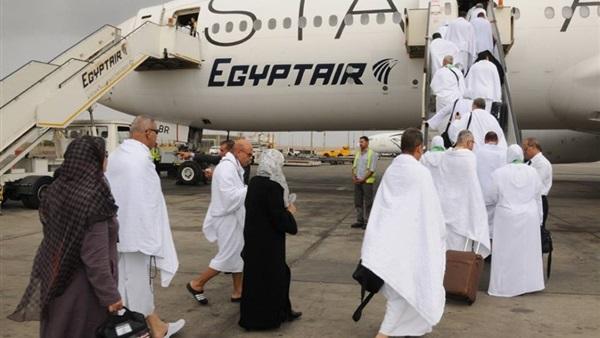 :  مصر للطيران  تنقل 765 حاجًا فلسطينيًا إلى الأراضي المقدسة