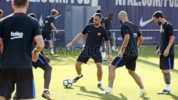 : برشلونة يعود للتدريبات استعدادًا لمواجهة ألافيس في الدوري الإسباني