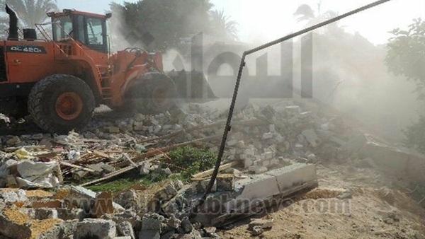 : إزالة 87 حالة تعد على الأرض الزراعية بالمنيا