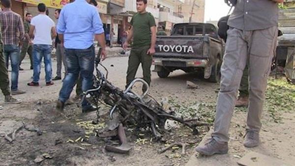: تفجير دراجة نارية في القامشلي شمالي سوريا