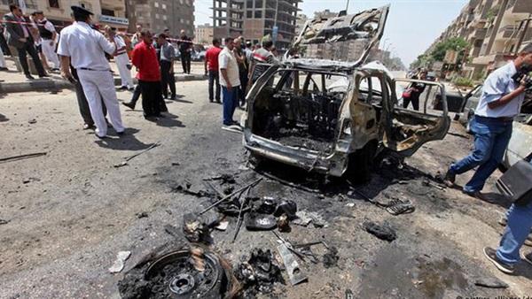 : شاهد في  أنصار بيت المقدس : انتحاري اعترض موكب وزير الداخلية وفجر نفسه