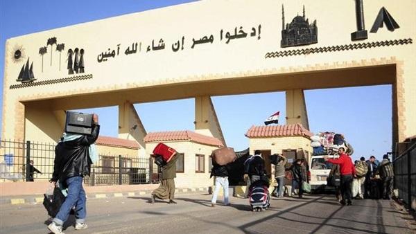 : عودة 286 وسفر 248 مصريا من وإلى ليبيا عبر السلوم