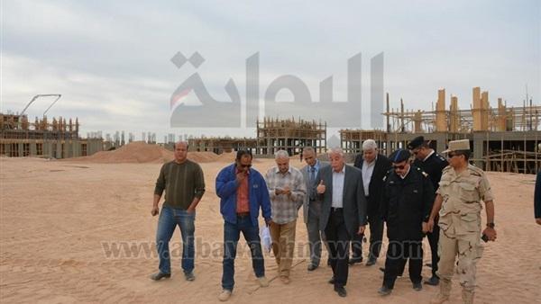 : فودة يوجه بسرعة الانتهاء من جامعة الملك سلمان بجنوب سيناء