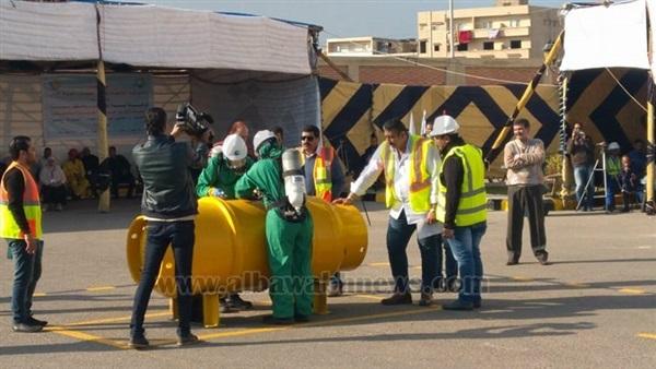 :  مياه مطروح  تشارك في نهائيات مسابقة محترفي الصحة المهنية