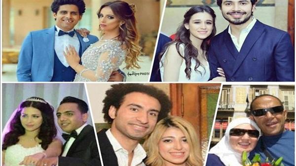 : نجوم مسرح مصر يتصدرون قائمة أهم حفلات زفاف عام 2017