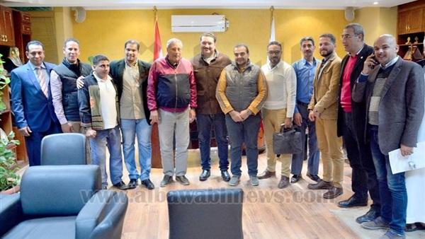 : بالصور.. تفاصيل لقاء رئيس مدينة شرم الشيخ مع لجنة الشباب