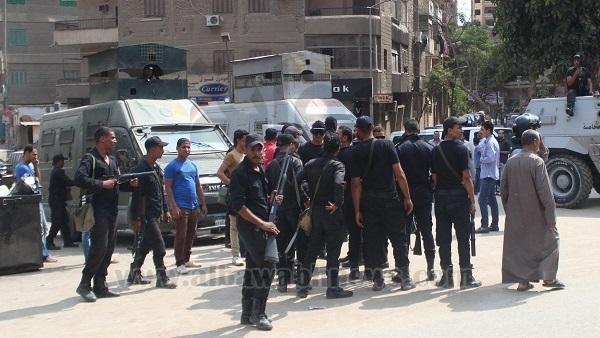 : أمن الجيزة يكثف جهوده لضبط متهمين بالهجوم على فندق