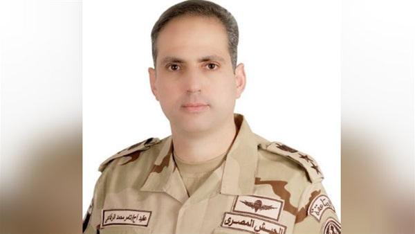 : هاشتاج  المتحدث العسكري  يتصدر تويتر: ربنا ينصر جيش مصر