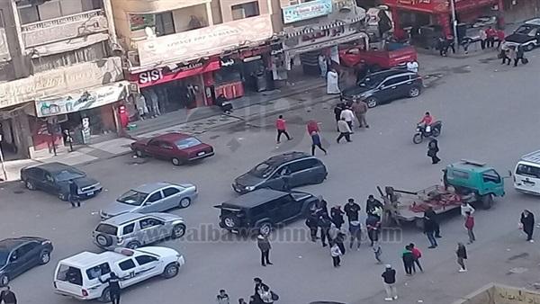 : بالصور.. تعزيزات أمنية أمام المنشآت الشرطية بالجيزة