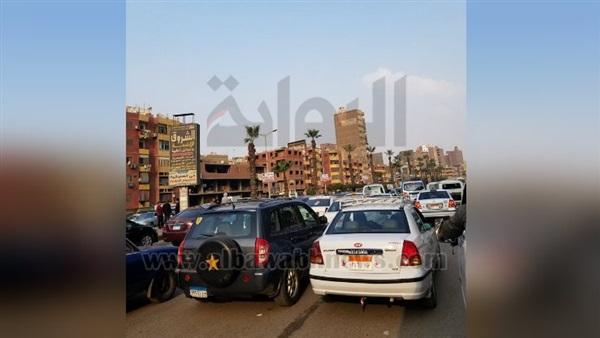 : شلل مروري بشارع فيصل