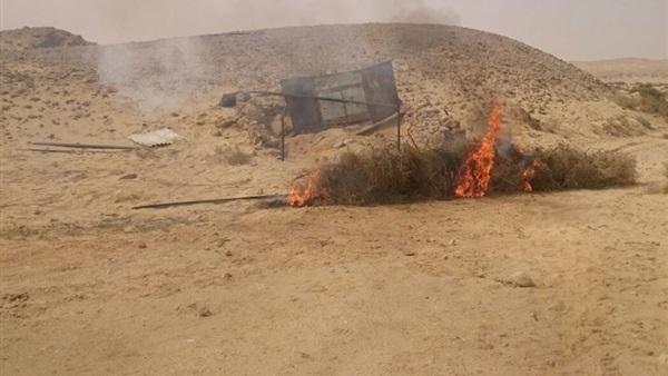 : إصابة أميني شرطة في تفجير حافلة جنود على طريق العريش