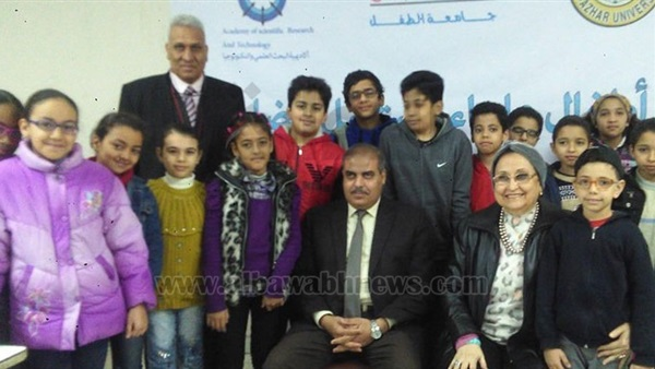 :  المحرصاوي  يلتقي طلاب جامعة الطفل