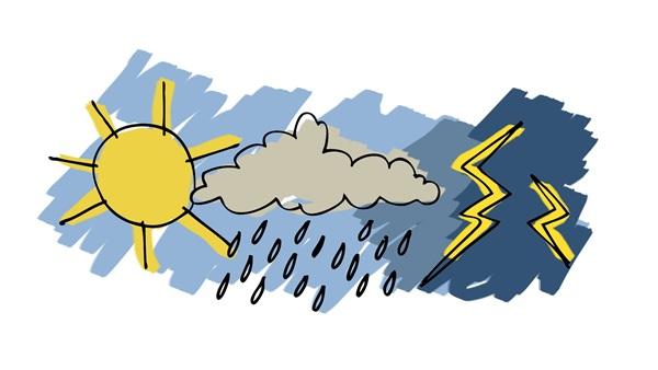 :  الأرصاد  تحدد موعد انتهاء موجة الطقس السيئ