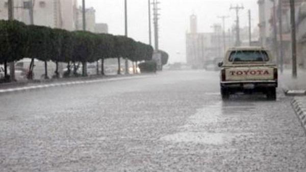 : بالفيديو.. الأرصاد: أمطار غزيرة على بعض المناطق