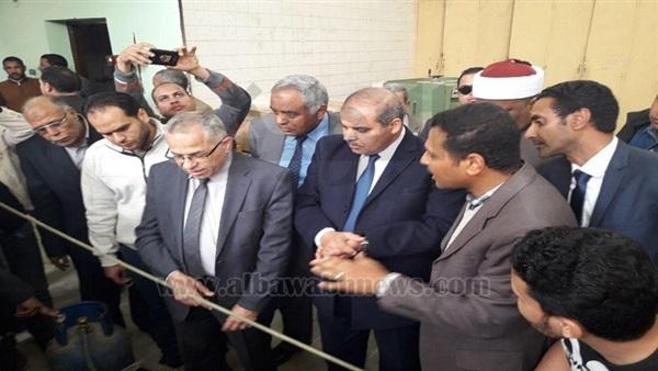 : بالصور. شومان والمحرصاوي يتفقدان كليات جامعة الأزهر بقنا