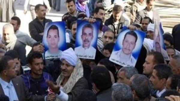 : مصر في انتظار رفات شهداء  مذبحة ليبيا  وأزمة بسبب  ماثيو