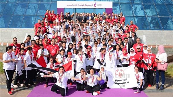 : بالصور..  المصرية للاتصالات  تكرم أبطال الأولمبياد الخاص