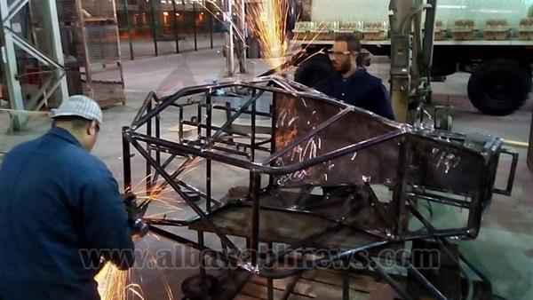 : الإنتاج الحربي تتبنى مشروع  باجا حلوان  للمشاركة في مسابقة  BAJA SAE