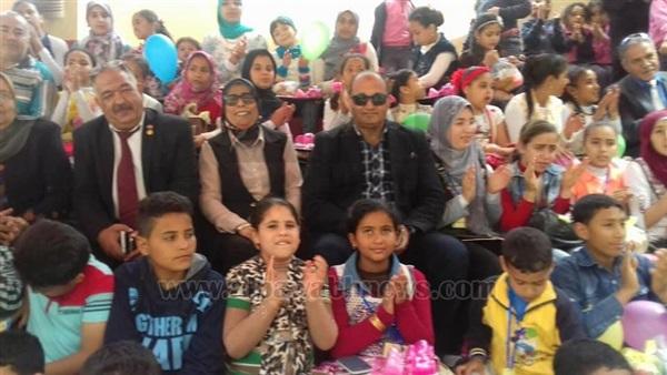 : بالصور.. فعاليات  الطفل السعيد  في مدارس المحلة