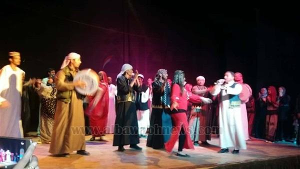 : بالصور.. ختام المهرجان المسرحي الثالث لشباب الجنوب بأسوان