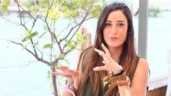 : بالفيديو.. أمينة خليل تكشف تفاصيل مسلسل  ليالي أوجيني