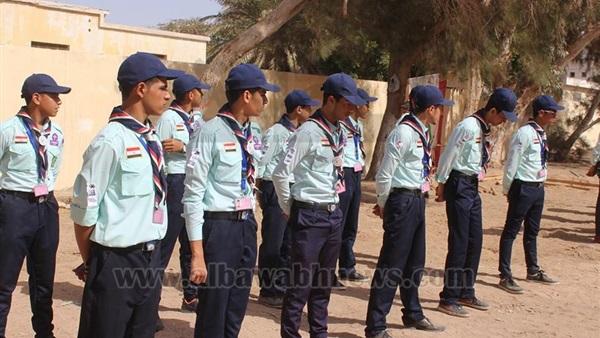 : بالصور.. جنوب سيناء تفوز بالمركز الأول في مسابقة  كشاف متقدم عام